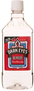 Dark Eyes Vodka With Premium Liqueur 1.00l - Case of 12